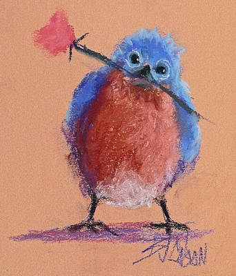 Bluebird Of Happiness Original by Billie Colson