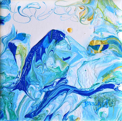 Painting - Bluebird Of Tomorrow by Donna Blackhall