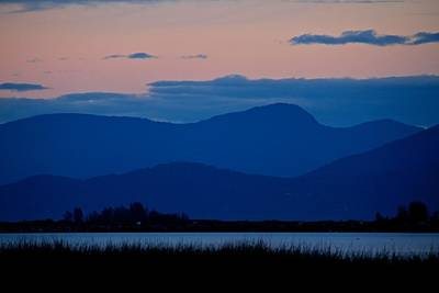 Photograph - Bluehills by Scott Holmes