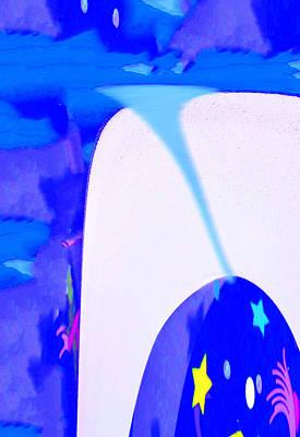 Bluenado Art Print by Bruce Iorio