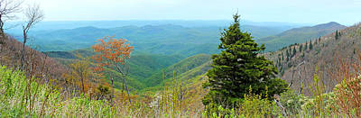 Photograph - Blueridge Parkway Wide View At Mm 421 by Duane McCullough