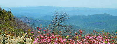 Photograph - Blueridge Parkway Wide View Near Mm 420 by Duane McCullough