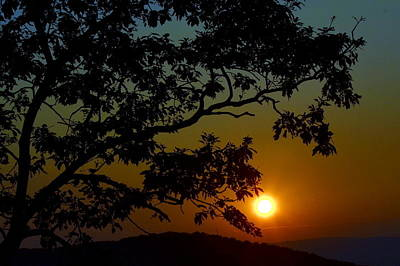 Photograph - Blueridge Sunset by Cathy Shiflett