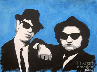 Painting - Blues Brothers by Venus