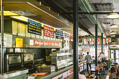 Barbecue Photograph - Blues City Cafe by Jon Woodhams