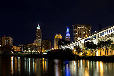 Blues In Cleveland Ohio Art Print