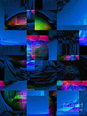 Digital Art - Blues In The Night by Kristi Kruse