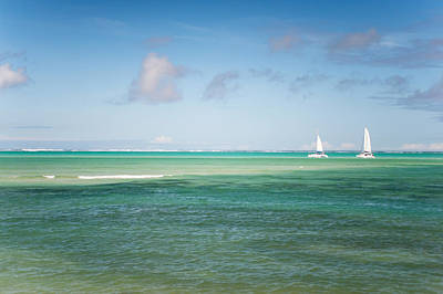 Photograph - Blues. Mauritius by Jenny Rainbow