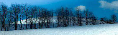 Snow Banks Photograph - Blues Of Winter by Karen Wiles