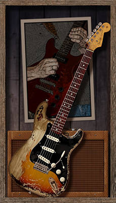 Eric Clapton Digital Art - Blues Tools 2 by WB Johnston