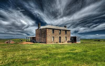 Photograph - Bluestone House by Wayne Sherriff
