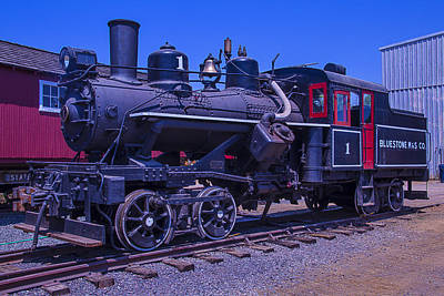 Oldest Train Photograph - Bluestone Train Number One by Garry Gay