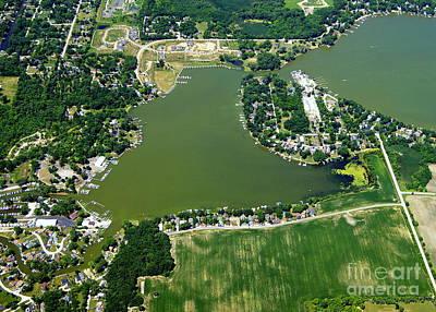Photograph - B-033 Bluff Lake Illinois by Bill Lang