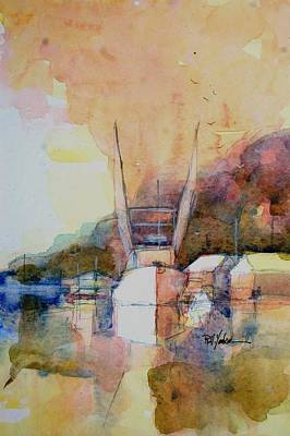 Bluffton Painting - Bluffton by Robert Yonke
