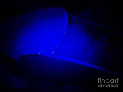 Photograph - Bluish Aura by Fei Alexander