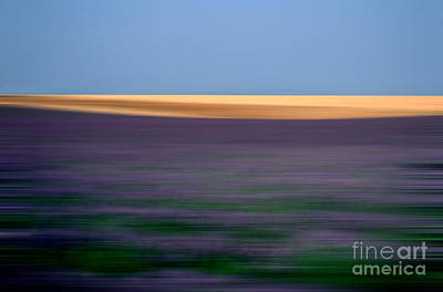 Blurred Landscape Print by Bernard Jaubert