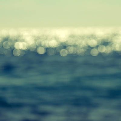 Beach Photograph - Blurred Light by Stelios Kleanthous
