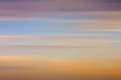Photograph - Blurred Sky 8 by John Bartosik