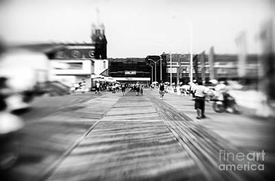 Photograph - Blurry Boardwalk by John Rizzuto