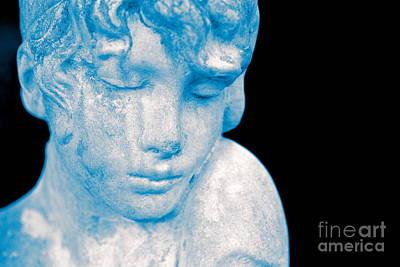 Blush Blue Art Print by Cathy Dee Janes