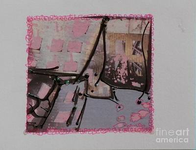 Mixed Media - Blushed Engagement by L Cecka