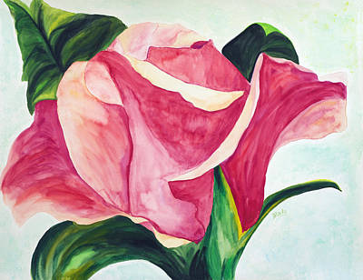 Painting - Blushing by Donna Blackhall