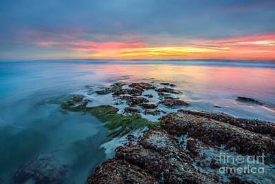 Long Exposure Photograph - Blushing Heavens by Alexander Kunz