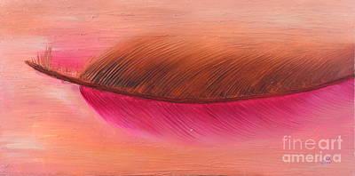 Painting - Blushing Phase by Preethi Mathialagan