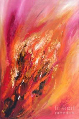 Painting - Blushing by Preethi Mathialagan