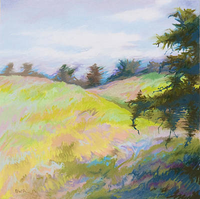 Pastel - Blustery by Bruce Richardson