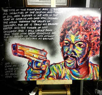 Ezekiel Painting - BMF by Heroku Shahera