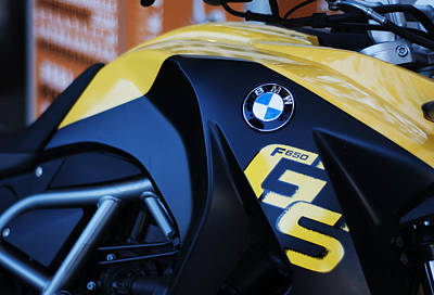 Photograph - Bmw F650gs Parked by Miguel Winterpacht