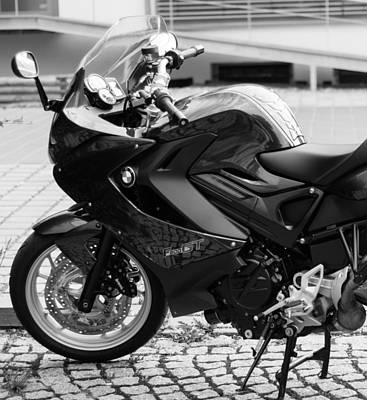 Photograph - Bmw F800gt Motorcycle Parked by Miguel Winterpacht