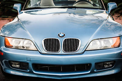 Photograph - Bmw Grille -1119c by Jill Reger