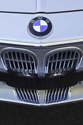 Bmw Vintage Cars Photograph - Bmw Grille by Jill Reger