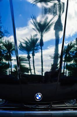 Photograph - Bmw Hood Emblem -0691c by Jill Reger