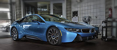 Photograph - Bmw    I 8 by Bill Linhares