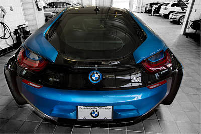 Photograph - Bmw I8 by Bill Linhares