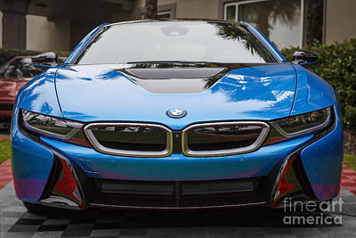 Photograph - Bmw I8 by Dennis Hedberg
