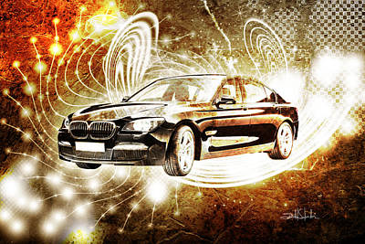 Reality Photograph - bmw by Isabel Salvador