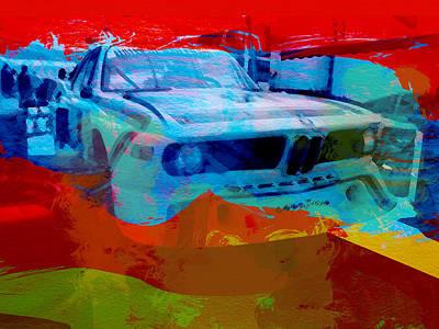 Bmw Laguna Seca Print by Naxart Studio