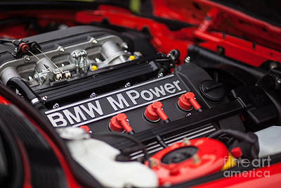 Transportation Royalty-Free and Rights-Managed Images - BMW M Power by Mike Reid