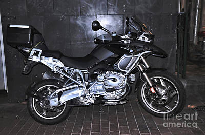 Photograph - Bmw Motorcycle by Kaye Menner