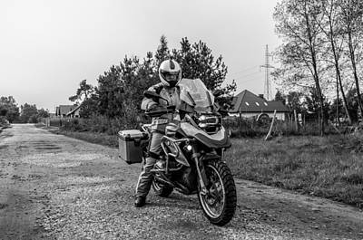 Photograph - Bmw R 1200 Gs by Tgchan