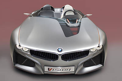 Photograph - Bmw Vision Connected Drive Concept  by Radoslav Nedelchev