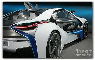 Sports Royalty-Free and Rights-Managed Images - BMW I8 vision VL by Stefano Senise