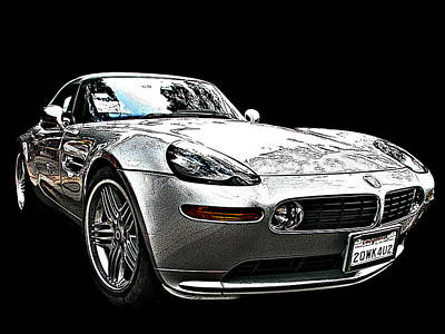 Photograph - Bmw Z8 Alpina Roadster by Samuel Sheats