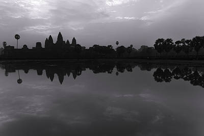 Photograph - Bnw Cambodia Siem Reap 02 by Sentio Photography