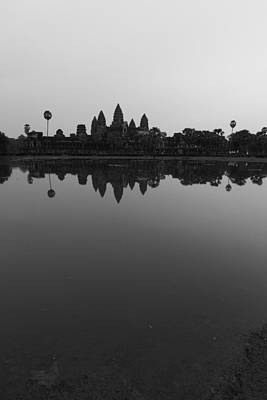Photograph - Bnw Cambodia Siem Reap 03 by Sentio Photography