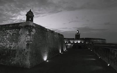 Photograph - Bnw Puerto Rico San Juan 01 by Sentio Photography